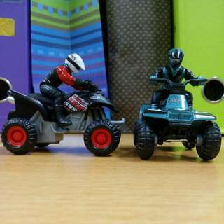 Maisto Fresh Metal ATV'S, Pullback Powered