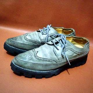 Sepatu Low boots vintage