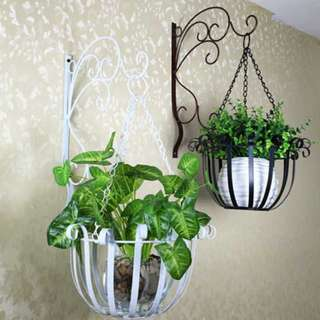 FR006 Flower Pot Hanging Rack Plant Wall Drilling Holder