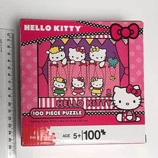 Brand New Hello Kitty 100pieces Puzzle Age 5+ and up.