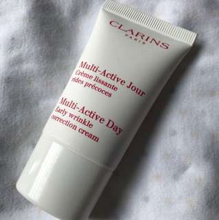 Brand new unused Clarins multi active day early wrinkle correction cream