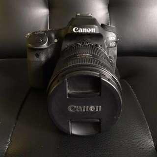 Canon EOS 80D +Lens