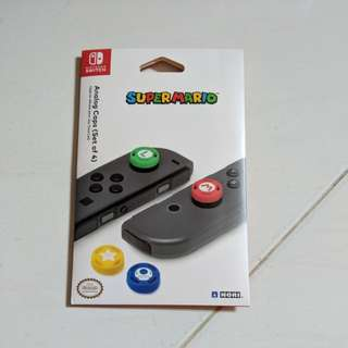 Hori Super Mario Analog Caps(Set of 4) for Nintendo Switch