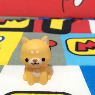 Cute dog figure