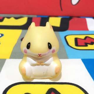 Cute hamster figure