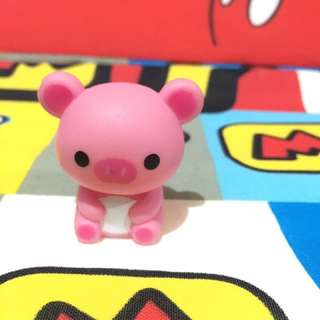 Cute pig figure