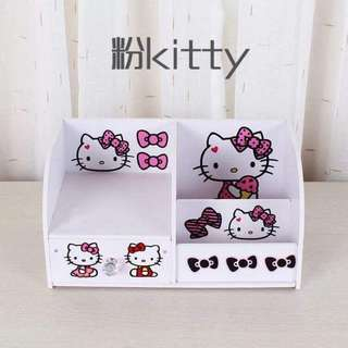 Hello kitty tiny makeup and jewelry drawer