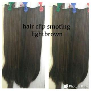 Hair Clip Smoting Lighbrown