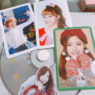 Twice聖誕專輯及小卡