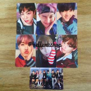 [READY STOCK] BTS YOU NEVER WALK ALONE [2017] DUPLICATED/REPLICA PHOTOCARD