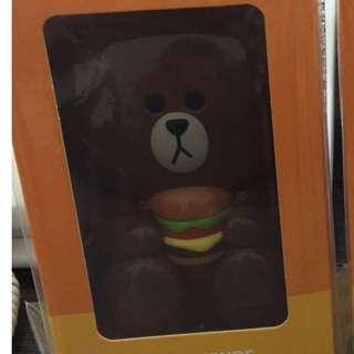 McDonald X Line Fan ( Brown)