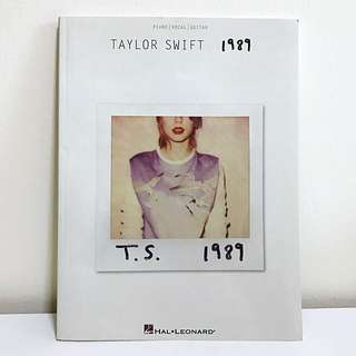 Taylor Swift 1989 Music Scores