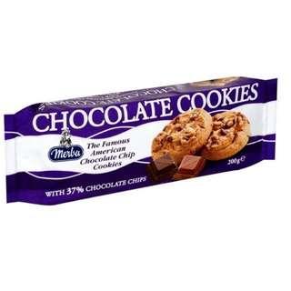 Merba Chocolate & Brownie Cookies 🍪