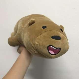 We bare bear plushie
