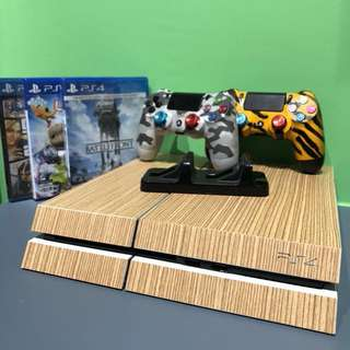 Full set PS4 with games