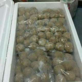 Beef balls made by self 100%