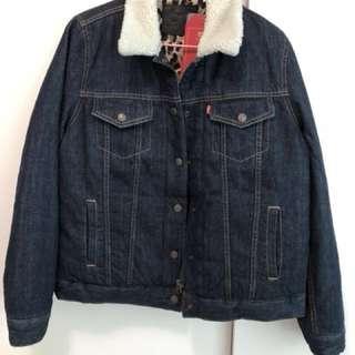 LEVI'S Denim Down Jacket