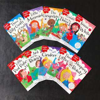 💥NEW  - Reading with Phonics Classic Story Set - Children Story Books