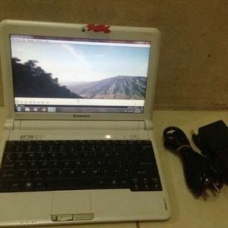 Netbook lenovo s10-2 hdd 160gb ram1gb batre 4jam normal jaya