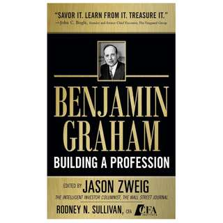 [$1] Benjamin Graham, Building a Profession - The Early Writings of the Father of Security Analysis (PDF eBook)