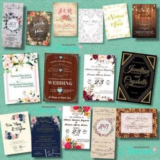 Invitation Card for Wedding/Engagement
