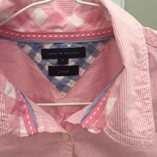 Tommy Hilfiger Womens Shirt, Size (6)