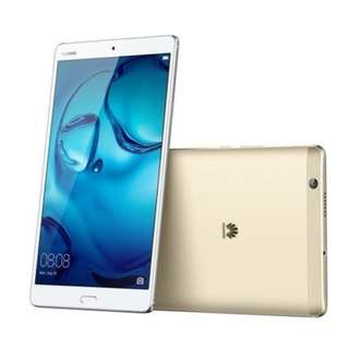 Huawei MediaPad M3 8.4吋平版 4G (4GB Ram+64GB Rom) 香港行貨 原廠保養
