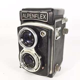 ALPENFLEX Z TLR TWIN-LENS CAMERA 1955 MADE IN JAPAN