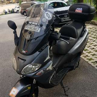 Piaggio x9 200, dirt cheap, good condition, after accident sale