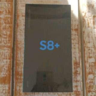 Samsung Galaxy S8 plus (midnight black) brand new sealed box NTC