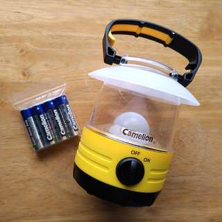 Camelion LED露營掛燈Camping Lantern with hook