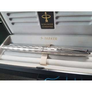 #Limited Edition #New Parker Fountain Pen (Stainless Steel)