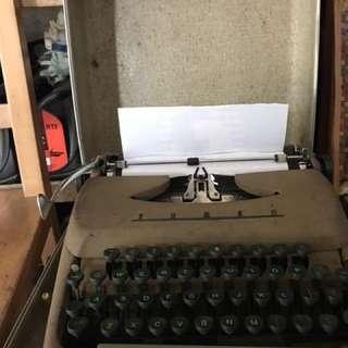 復古打字機