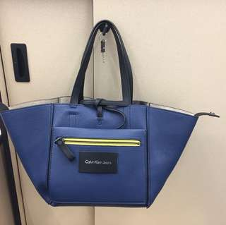 Calvin Ultra light reversible tote