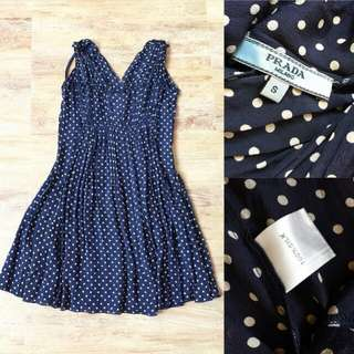 Prada Milano Polka Authentic Dress