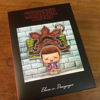 SuperEmoScenes Stranger Things Diorama Figure Lootcrate Exclusive