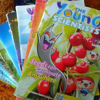 YOUNG scientist Magazines  Level 1  26 copies  Each at $1.50   Or any 2 at $2  Pick up hougang buangkok mrt