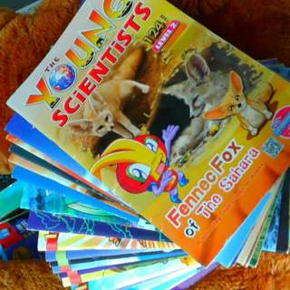 YOUNG scientist Magazines  Level 2  28 copies  Each at $1.50   Or any 2 at $2  Pick up hougang buangkok mrt