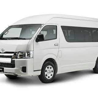 Hiace hiroof euro 5 model for lease