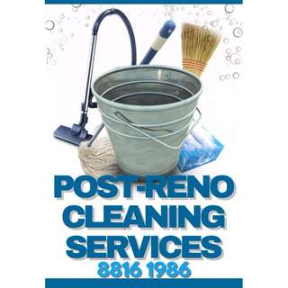 *** POST CLEANING SERVICES ***