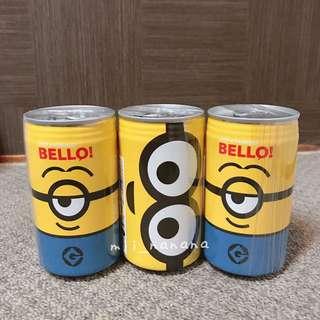 MINION 飲料罐款朱古力小食罐
