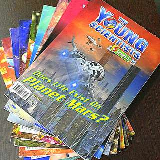 YOUNG scientist Magazines  Level 4  32 copies  Each at $1.50   Or any 2 at $2  Pick up hougang buangkok mrt