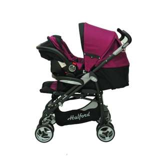 stroller with carrier