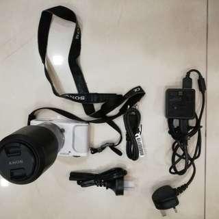 Sony NEX 3NL with manual SEL55210 lense