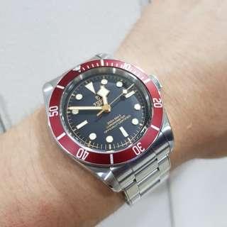 Mega Deal Sale!! Like New Tudor Black Bay Red 79230R 41mm (2017 Model)