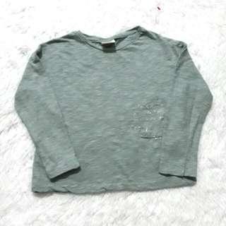 (5Y) Zara green top