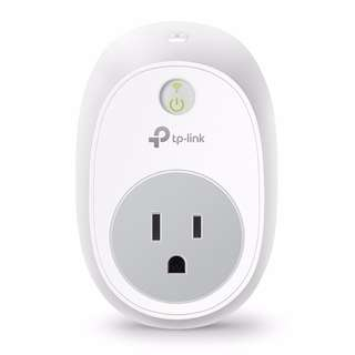 TP Link Wi-Fi Smart Plug HS100 (US) No Hub Required, Wi-Fi, Works with Alexa and Google Assistant, Control Your Devices from anywhere