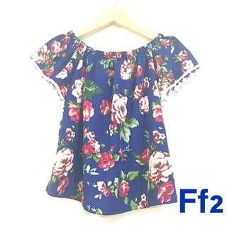SALE!!! Floral Off-Shoulder Blouse