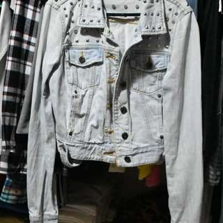 Bardot Denim Jacket Size 8