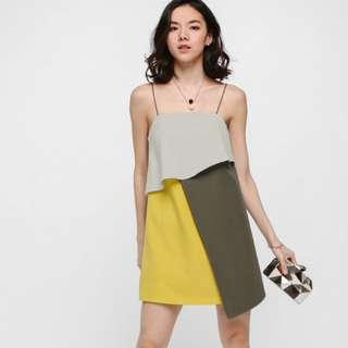 Lanse Layered Colour Block Dress